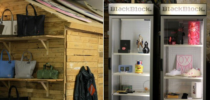 Pop-up store BlackBlock @ Le Bouclard rue charlot