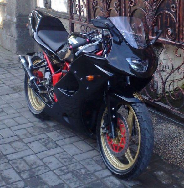 Picture of Kawasaki Ninja 150 Rr Modif