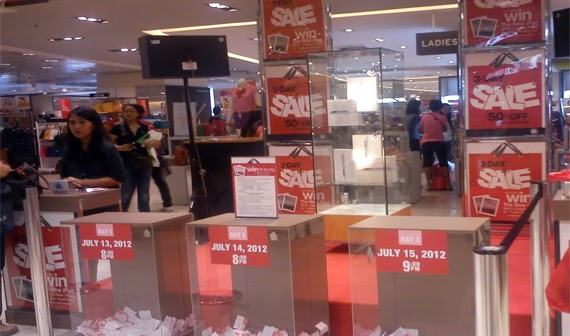SM City North Edsa: Shopping Day at the Great Northern Sale!