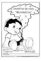 Capa de caderno matemática