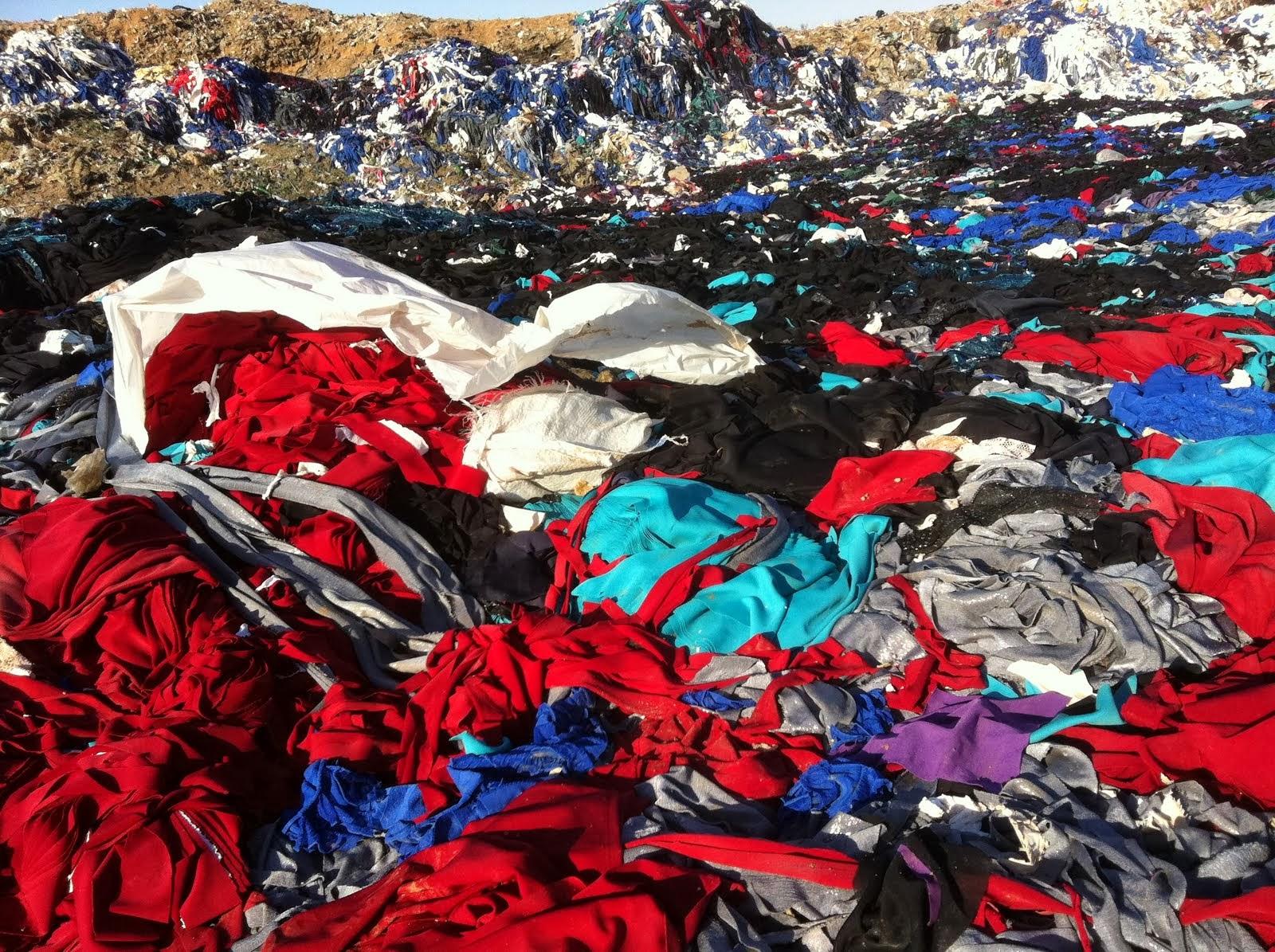 Autossustentável: Resíduos descartados em lixão