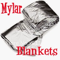 Emergency Mylar Thermal Blankets (Packs) £6.99