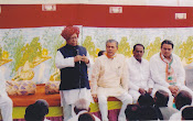 Suchit Dave with Mahabir Prasad, Union Cabinet Minister & Shri Shankar Pannu, MP from Rajasthan