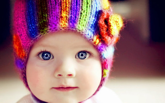 1111-Cute Colorful Baby HD Wallpaperz