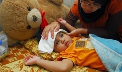 Akibat Cuaca Yang Tidak Menentu Anakku Terserang Flu