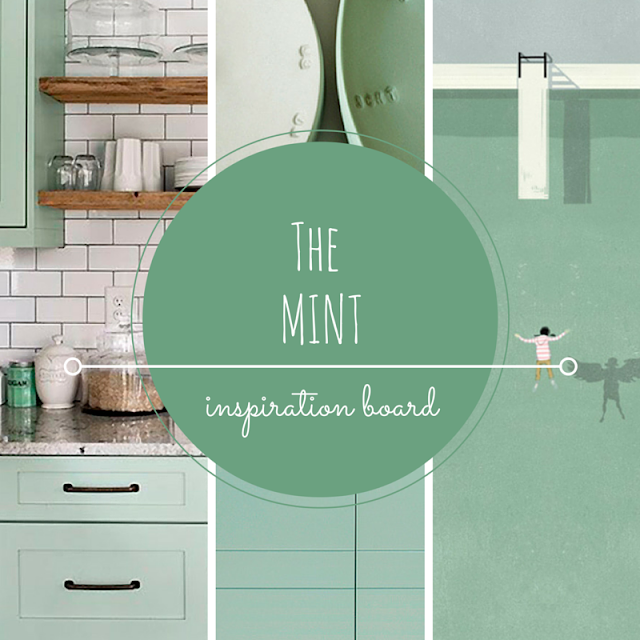 MINT • WEEKLY COLOR INSPIRATION • THE ROUND BUTTON BLOG