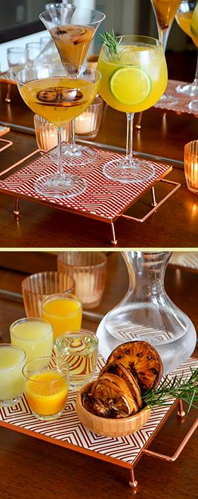 Três drinks refrescantes feitos com Gin Tanqueray Flor de Sevilla