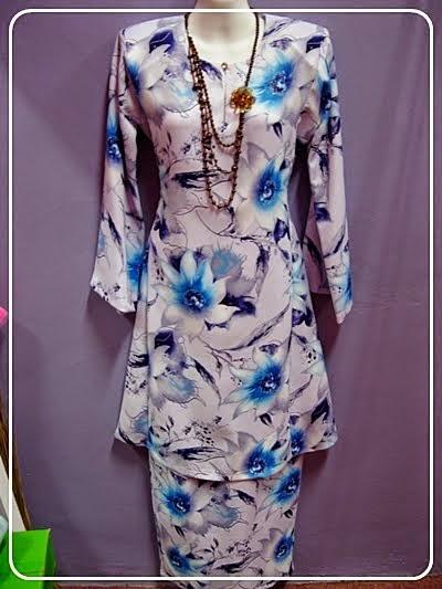 Cara Membuat Pola Baju Kurung Pesak Gantung Lengkap
