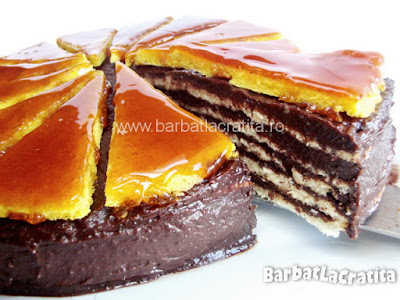 Tort Dobos (reteta de foi si crema)
