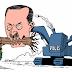Brezilyalı karikatürist Carlos Latuff, Gezi Parkı direnişini çizdi.