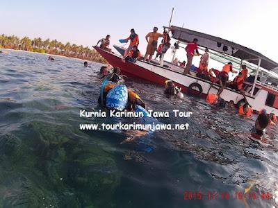 snorkeling di pulau menjangan kecil