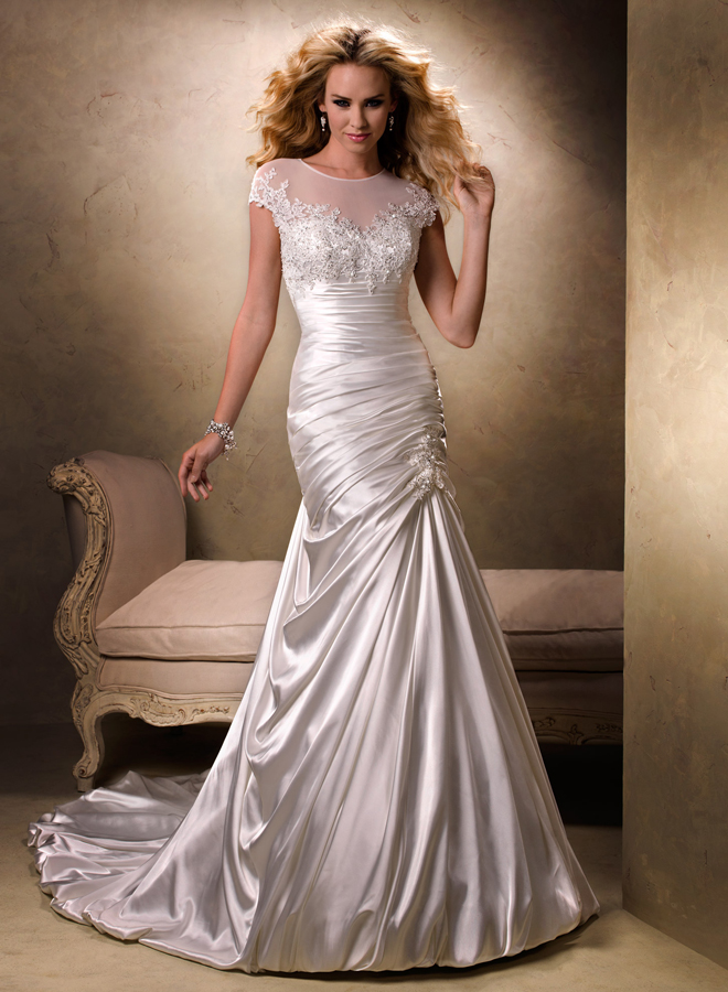 wedding dress bridal gown maggie sottero