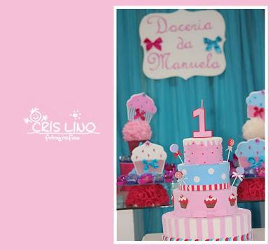 Festa Cupcakes da Manuela