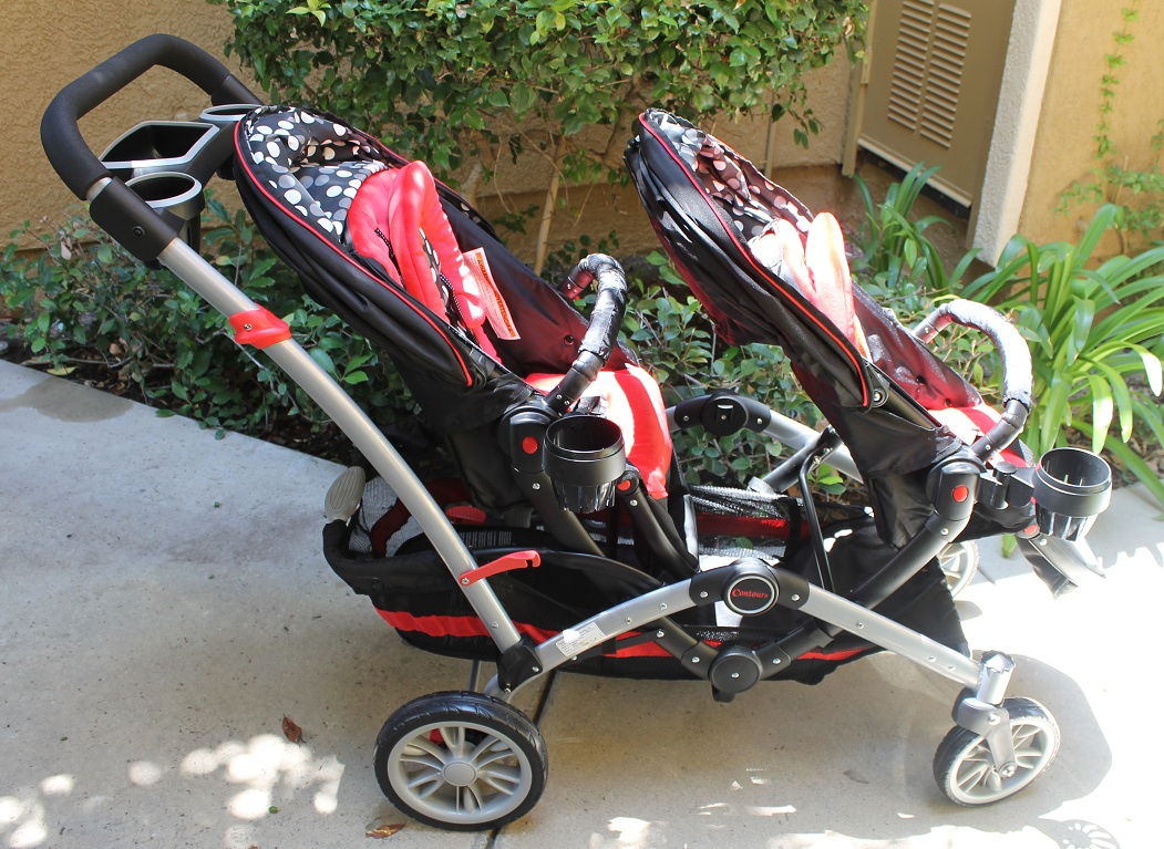 Contours Optima Tandem Stroller Car Seat Adapter