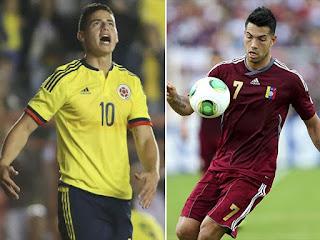 Colombia vs Venezuela, Copa América Chile 2015
