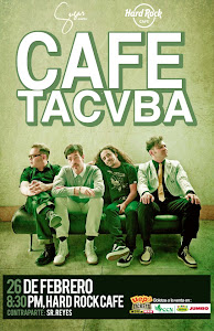 Caf Tacvba, 26 de febrero@Hard Rock Caf Santo Domingo