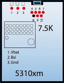 Nokia 5310 Pinout
