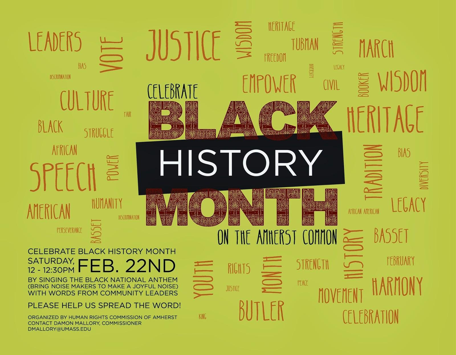 Black history program template northurthwall black history program template alramifo Image collections