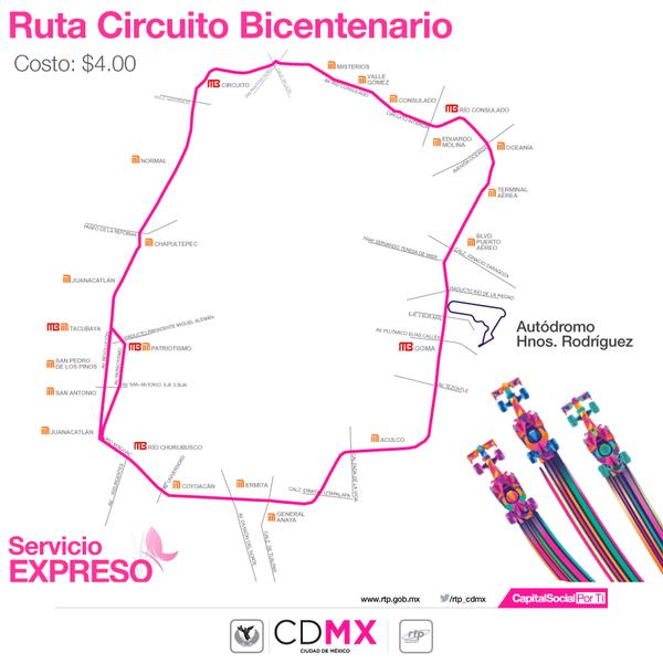 Circuito Bicentenario Expreso : Octubre rtp m