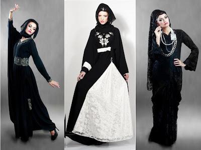Arabic Abaya Designs 2012