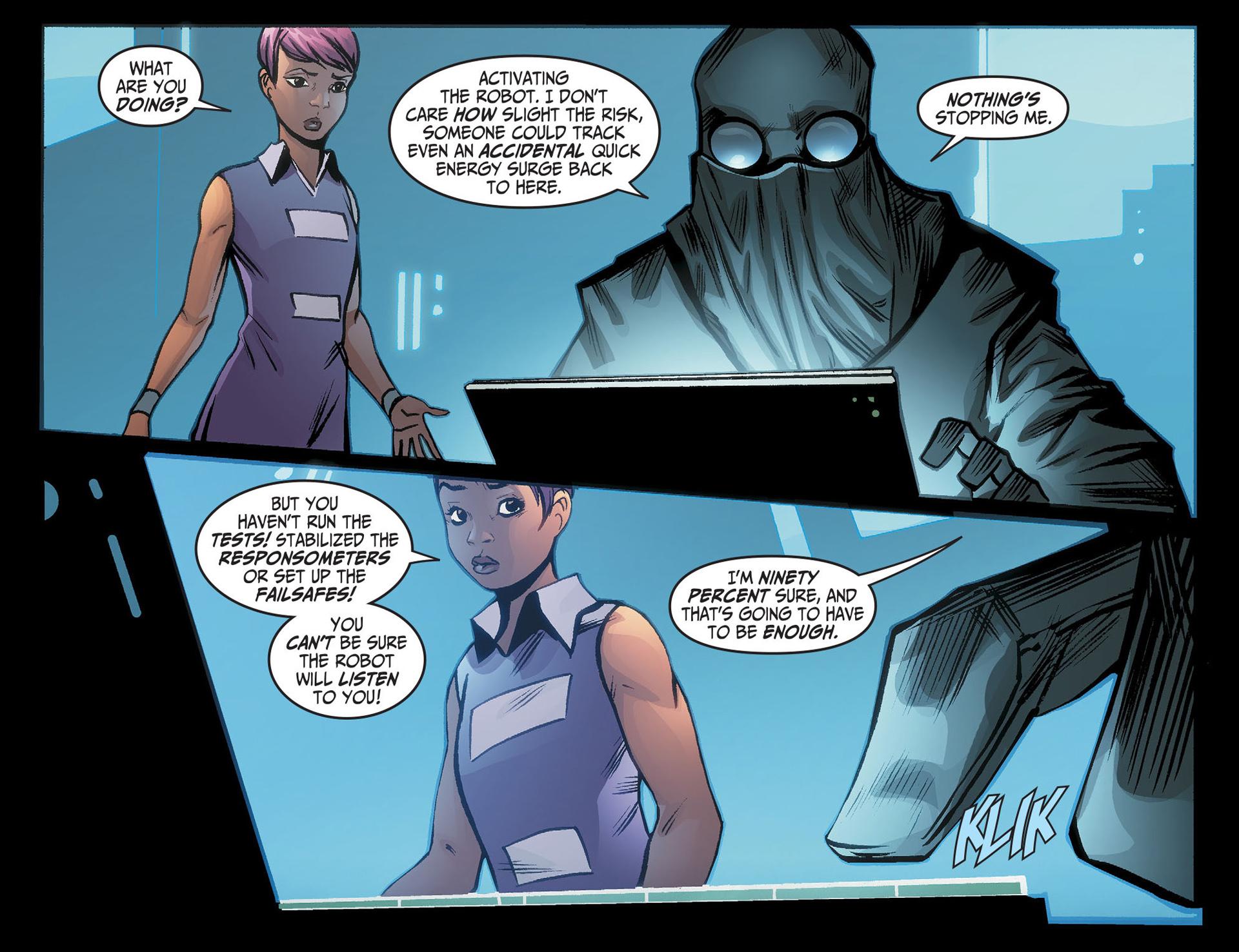 Batman Beyond (2012) Issue #22 #22 - English 21