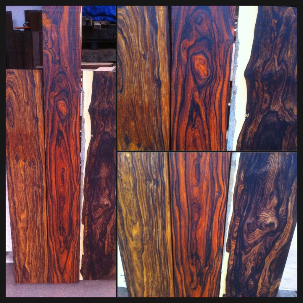 Cocobolo Wood Logs