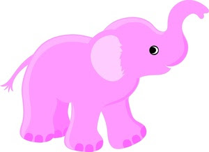 Cute cartoon baby elephant pictures