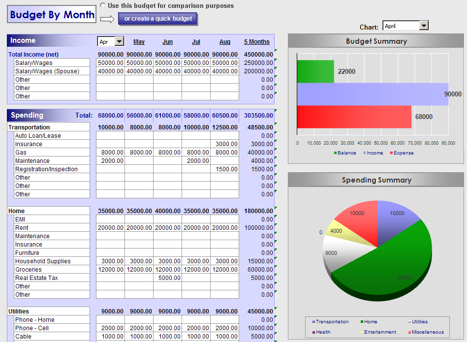 Investor Juan: 5 Ways This Free Excel Budget Planner Can Help You ...
