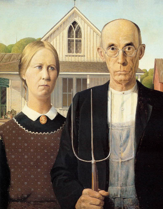 Wood Is The Artist Responsible For American Gothic 1930 Painting Recognizable Even To Americans Without Any Knowledge Of Art By Virtue As A Result