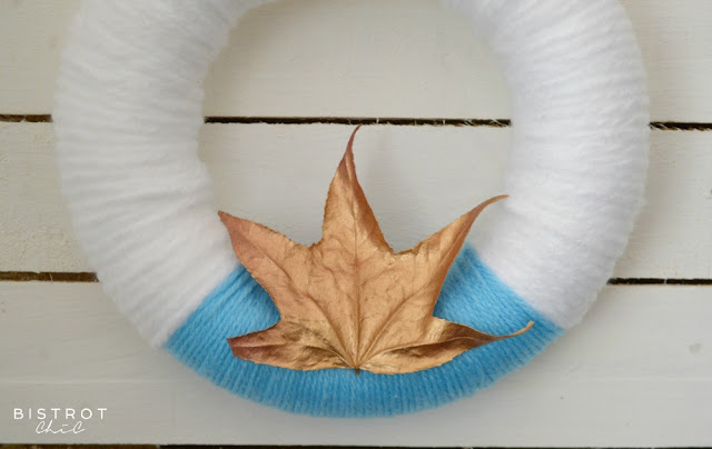Fall Wool Wreath by BistrotChic