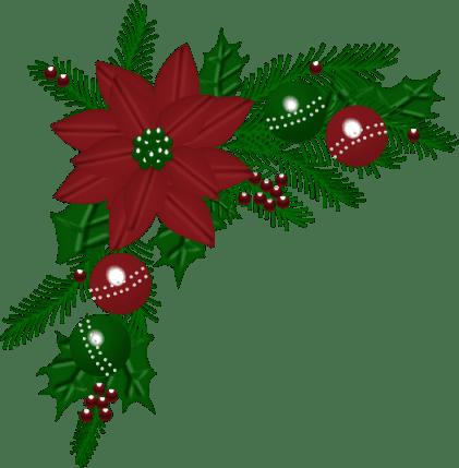 Bordes Decorativos Navidad Colorear