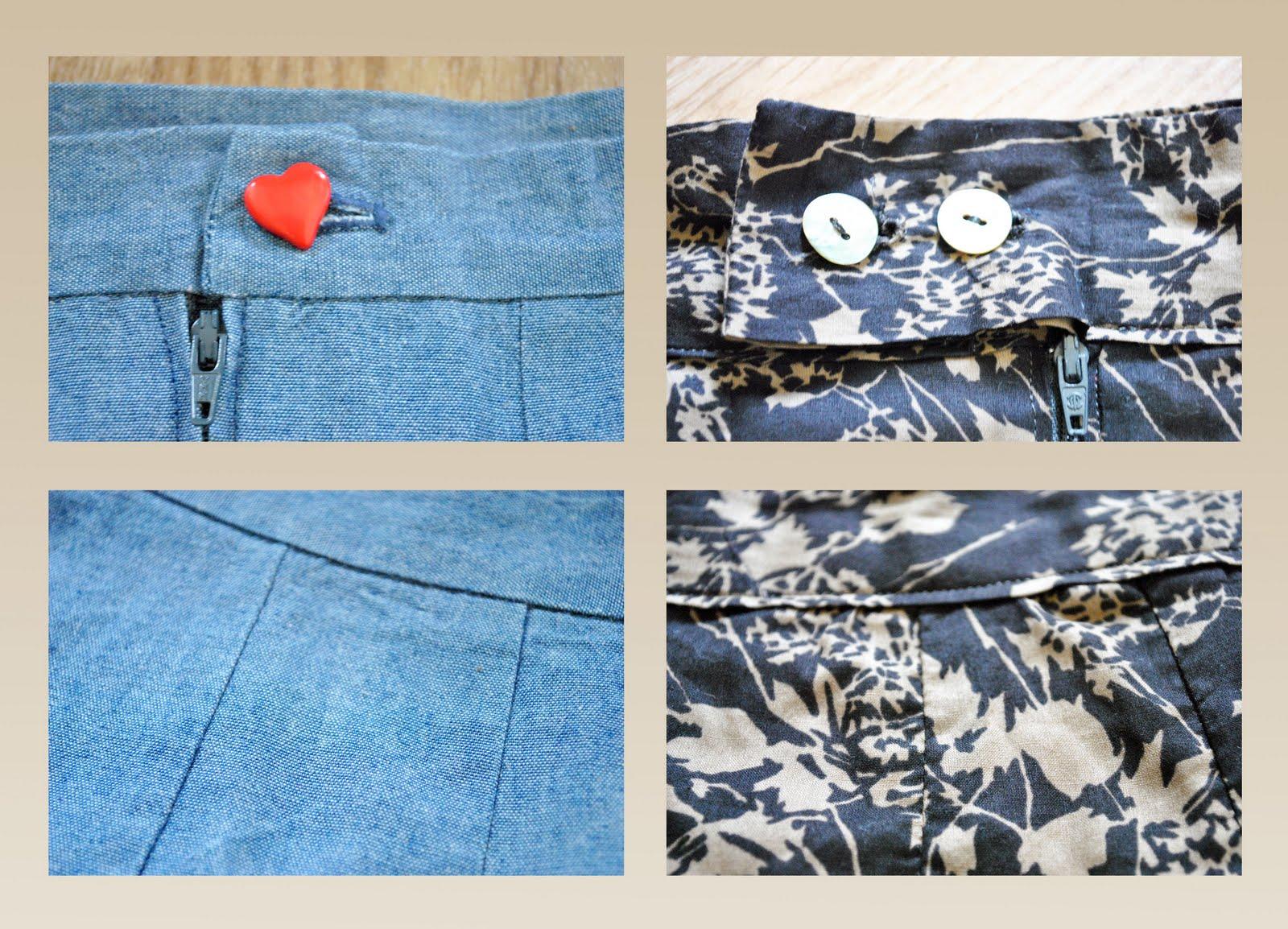 funky sunday un patron deux possibilit s 2 la jupe droite. Black Bedroom Furniture Sets. Home Design Ideas