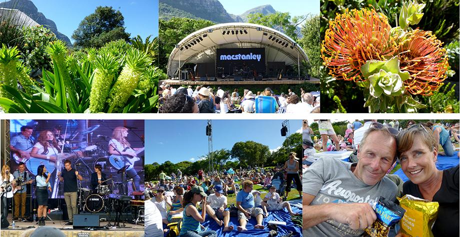 Ynas Reise Blog | Südafrika - Im Kirstenbosch Garden beim Sonntagskonzert