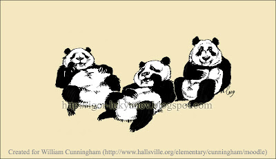 dessin illustration ours panda