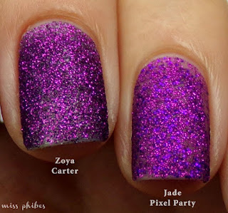 Zoya Carter + Jade Pixel Party