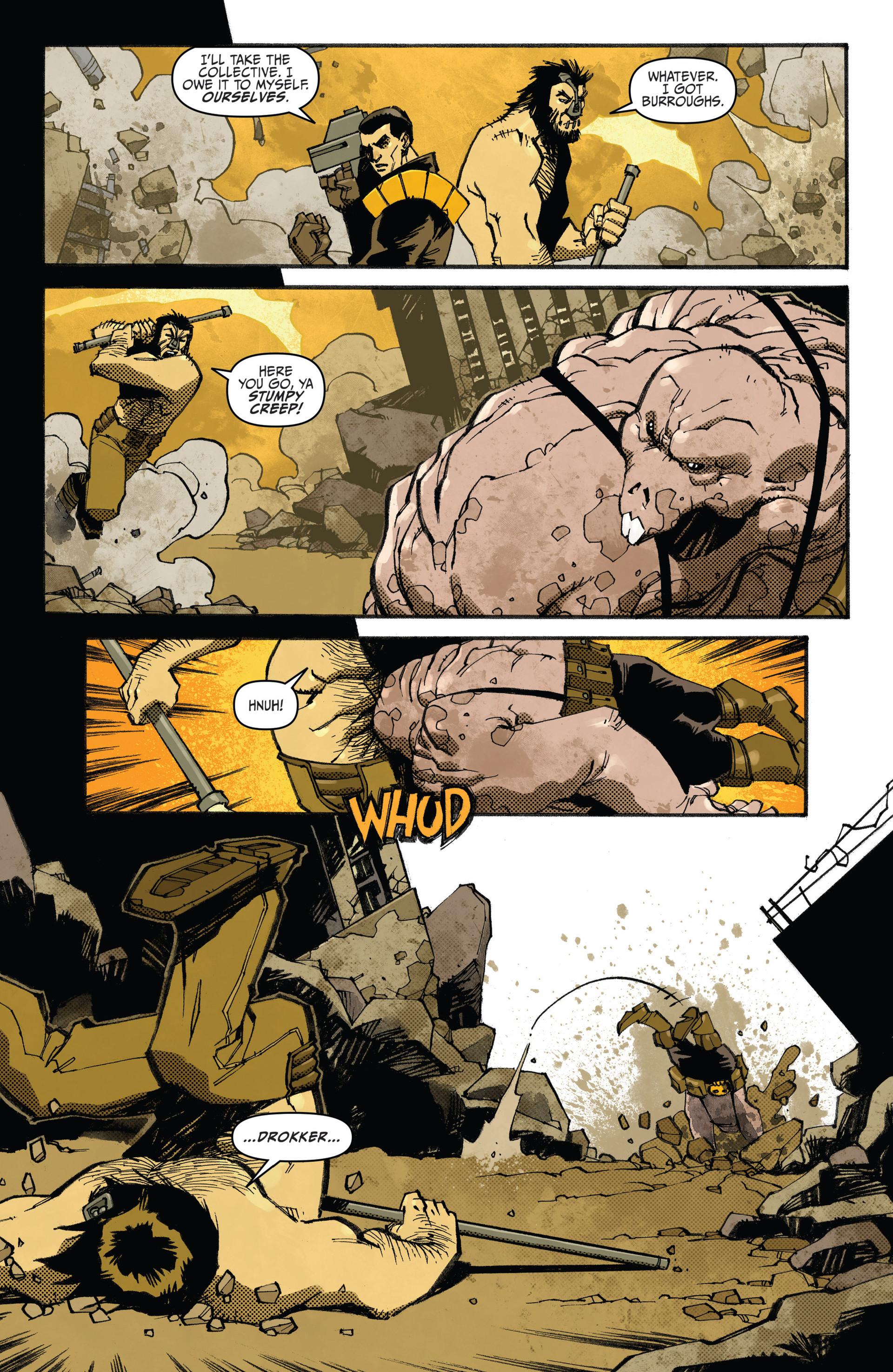 Read online Judge Dredd (2012) comic -  Issue #20 - 13