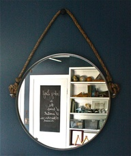 Ikea hacks rope mirror