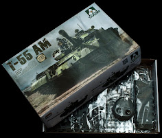 In Boxed - Takom's 35th scale T-55 AM Russian Medium Tank