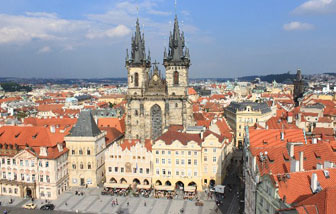 Central Square in Prague, Czech Republic, fastest broadband internet, http://lorihenry.ca