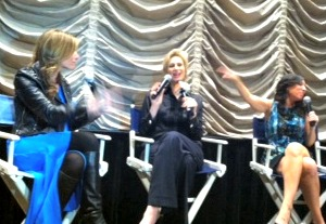 Janelynch+and+moms Jane Lynch Discusses Movies, Glee, Acting and Kids