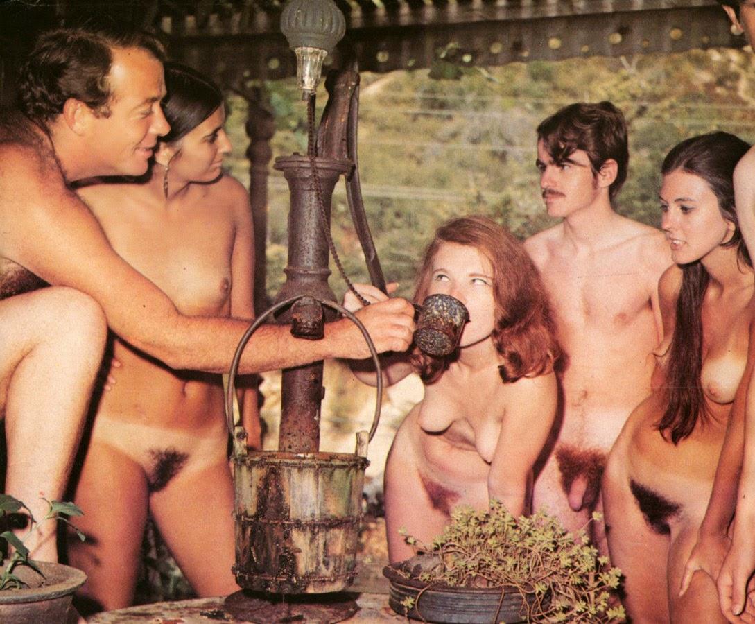 Vintage family porn nudist