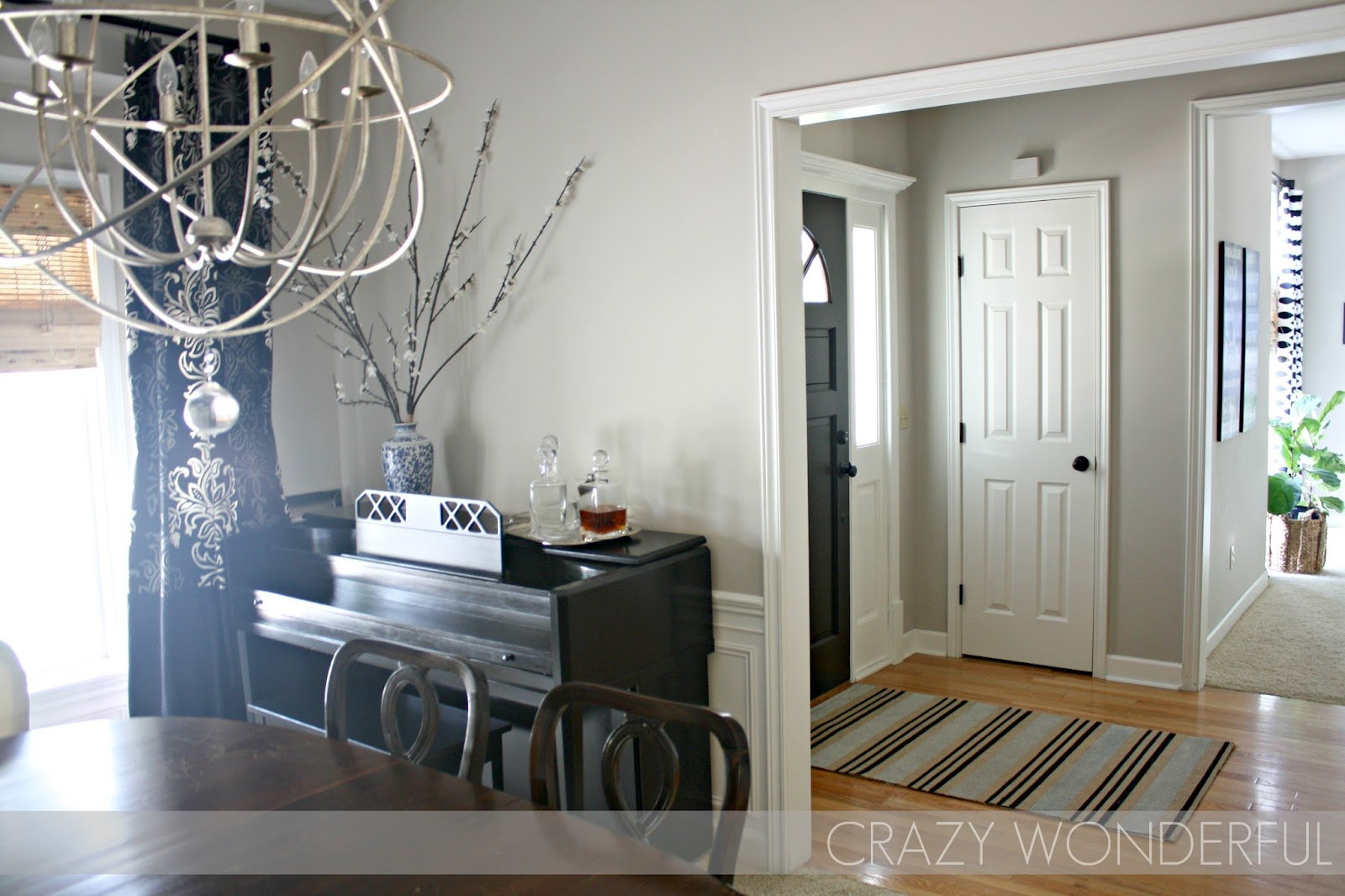Dining Room Molding Reveal