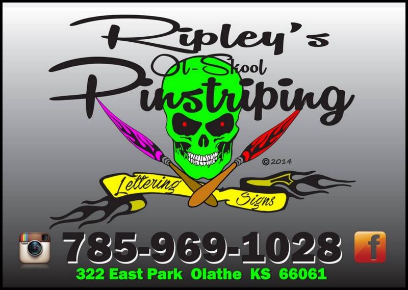 Ripley's Ol-Skool Pinstriping