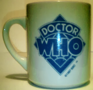 Doctor Who 1987 mug with classic logo