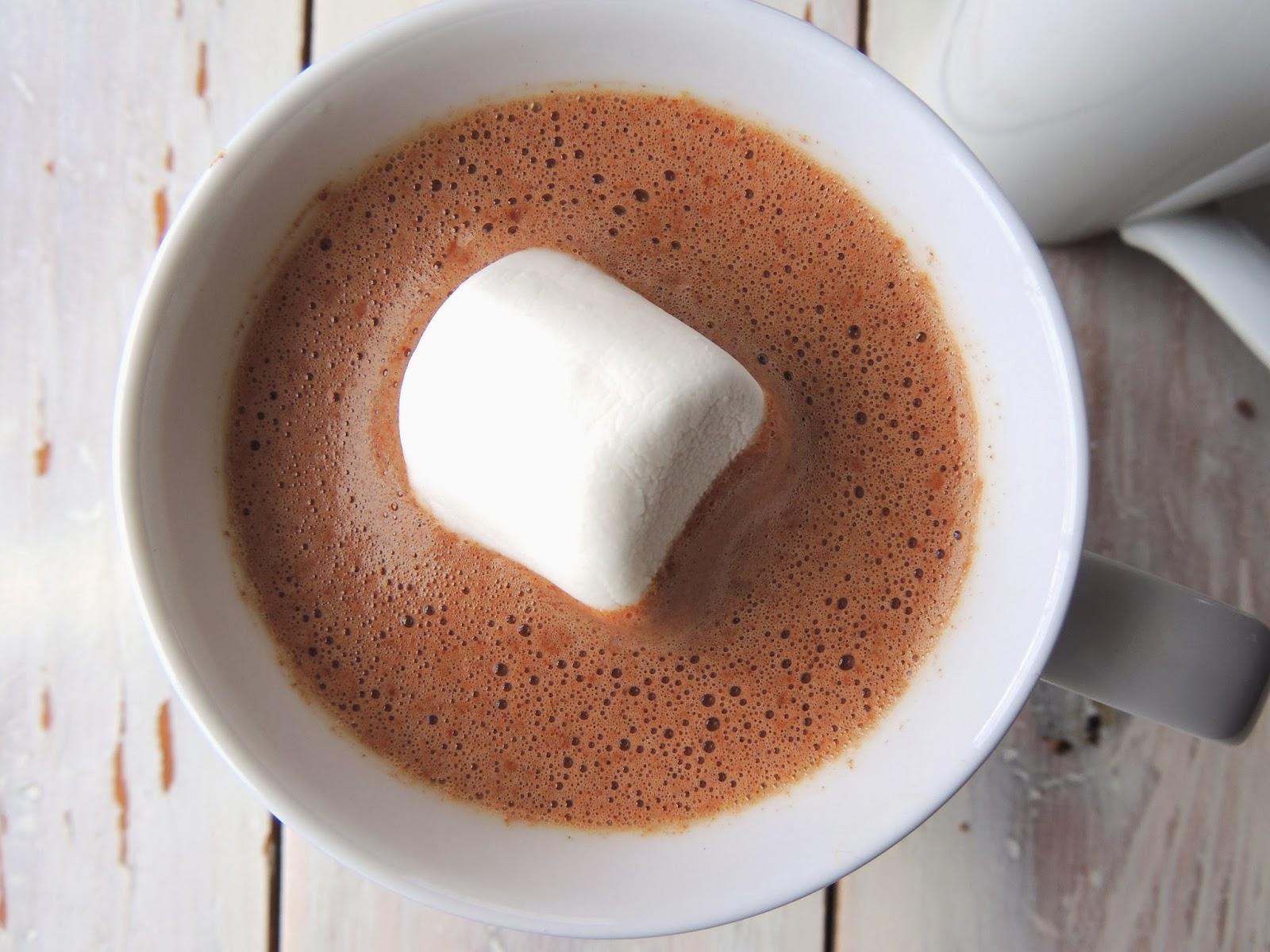 Hot Chocolate Makes Heart