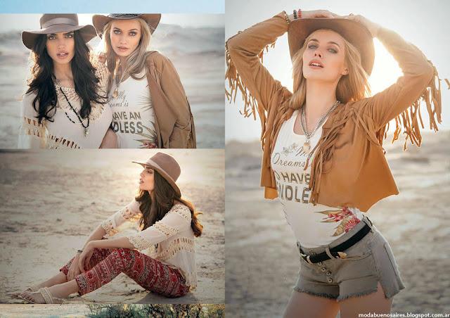 Moda mujer verano 2016 Sweet. Moda 2016.