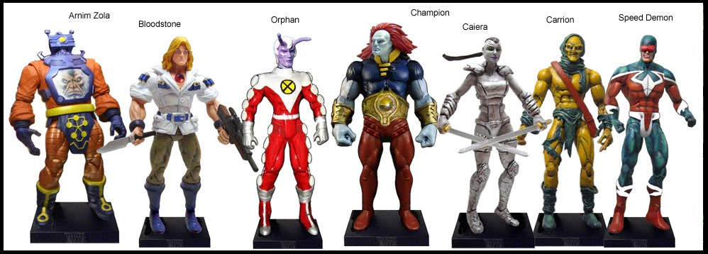 <b>Wave 41</b>: Arnim Zola, Bloodstone, Orphan, Champion, Caiera, Carrion and Speed Demon