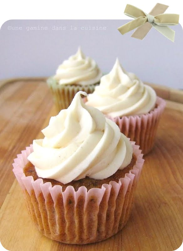 ... : Carrot Cake Cupcakes with Cinnamon-Maple Cream Cheese Frosting