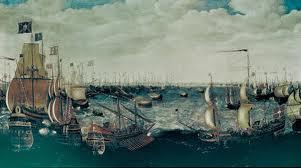 Batalla naval entre La Armada Invencible y La Armada Inglesa