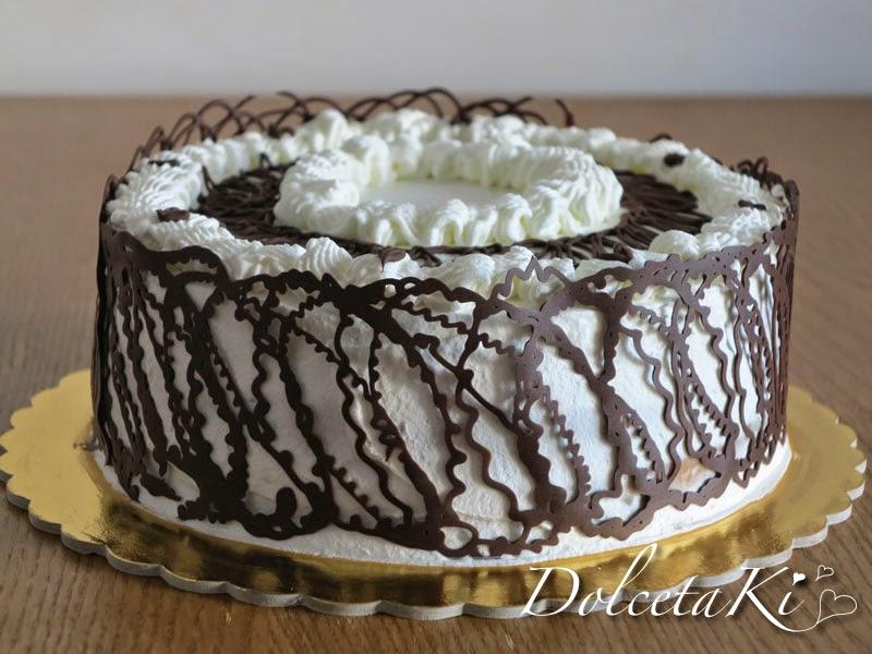 torta decorazioni cioccolato